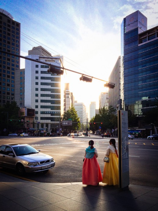 Hanbok in the City